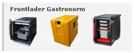 Thermoboxen Frontlader Gastronorm